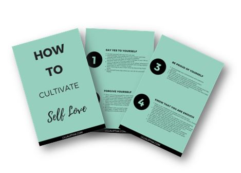 HOW TO CULTIVATE SELF LOVE - DOWNLOAD