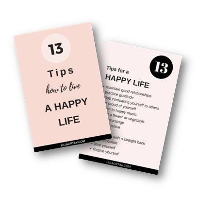 HOWTOLIVEAHAPPYLIFE