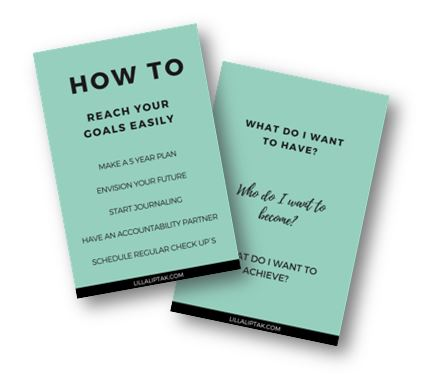 HOW TO REACH YOUR GOALS EASILY - DOWNLOAD