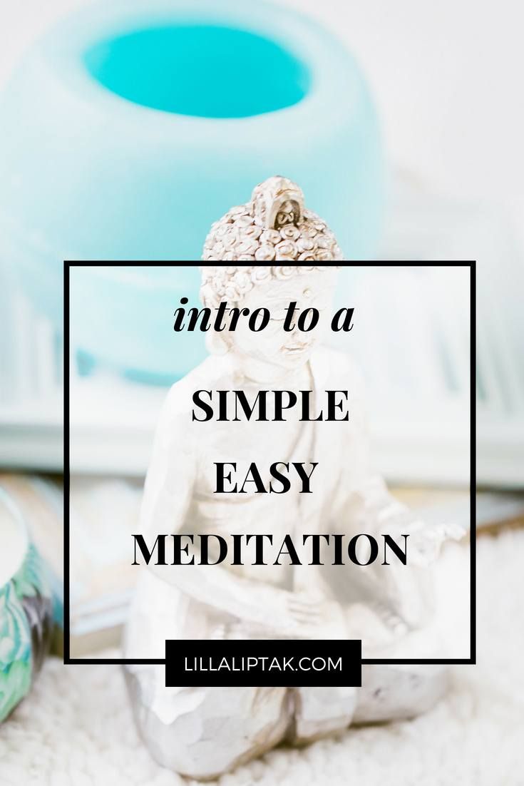 Use this simple easy meditation technique to relax via lillaliptak.com #meditation #meditate #meditateforbeginners #meditationforbeginners #easymeditation #relax #relaxation #mindfulness #lillaliptak