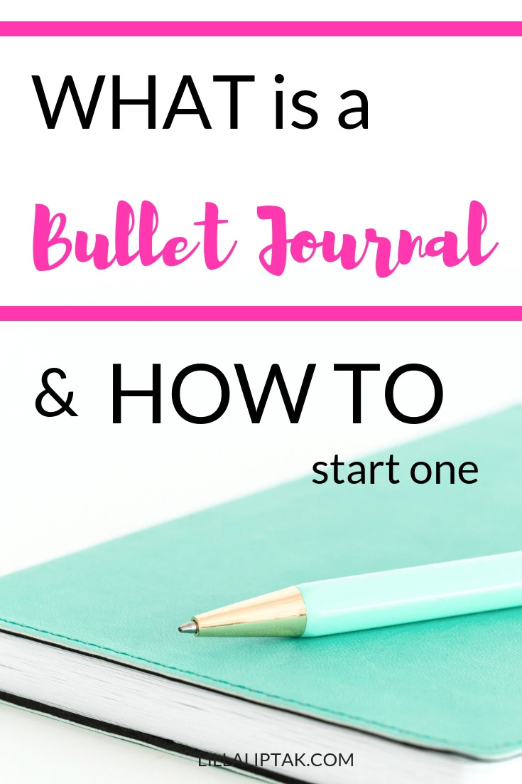 How to start a bullet journal? Head over to lillaliptak.com and get started #bulletjournal #bujo #bujoinspire #bujojunkies #bulletjournaljunkies #bujolove #journaling #journal #planner #planning #lillaliptak