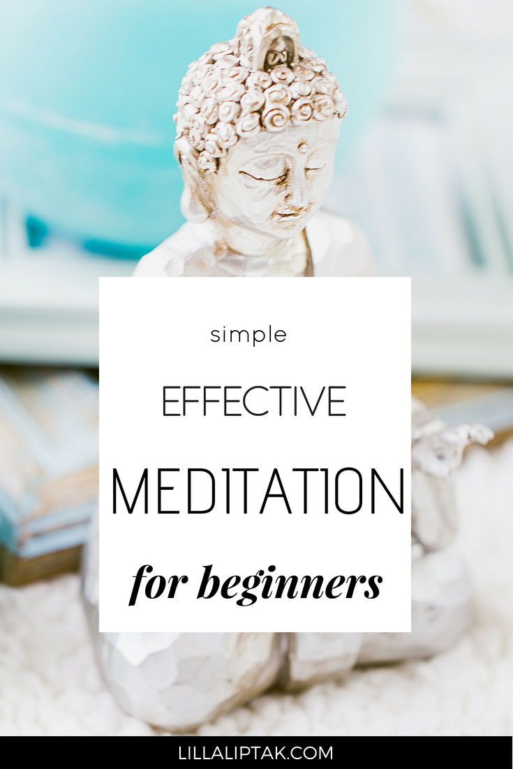 Follow these 5 easy steps and experience instant relaxation. Get the benefits of meditation and create a healthy, balanced life! via lillaliptak.com #meditation #happiness #balance #lillaliptak