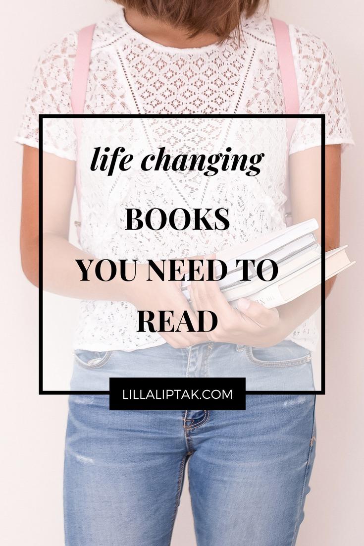 Check out over 90 transformative books via lillaliptak.com and design your dream life #books #bookstoread #bookworm #selfimprovement #personalgrowth #designyourlife #lillaliptak