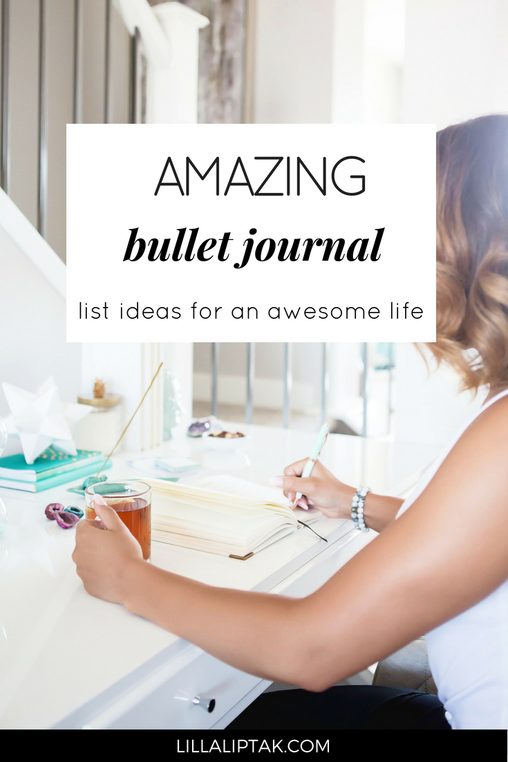 Create a life you love with the help of a bullet journal! Get inspired via lillaliptak.com #bulletjournal #bujo #bujoinspire #bulletjournalideas #bujojunkies #lillaliptak