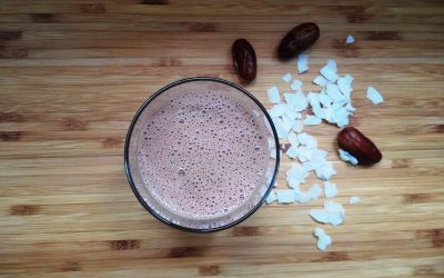 DELICIOUS CHOCOLATE SMOOTHIE TO BOOST YOUR ENERGY