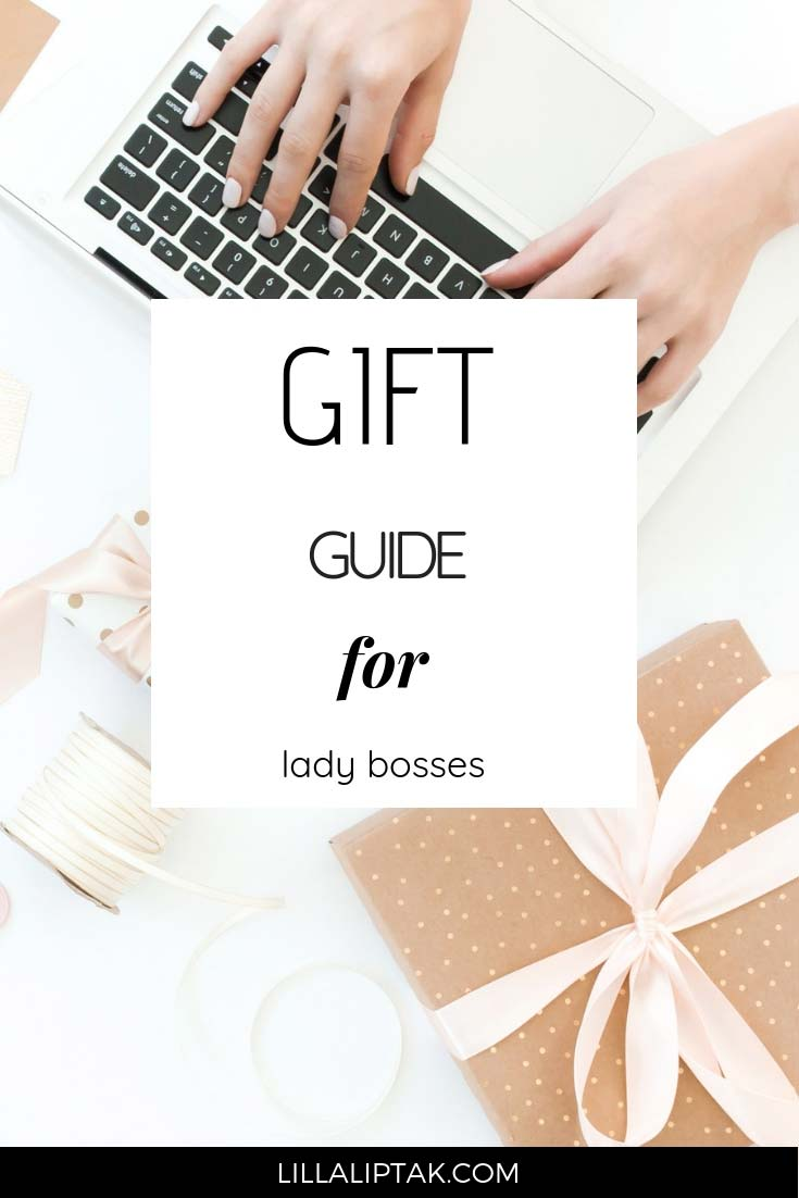 Are you looking for a present for the boss lady in your life? Check out this gift guide via lillaliptak.com to get some ideas. #giftguide #bosslady #valentinesdaygifts #lillaliptak