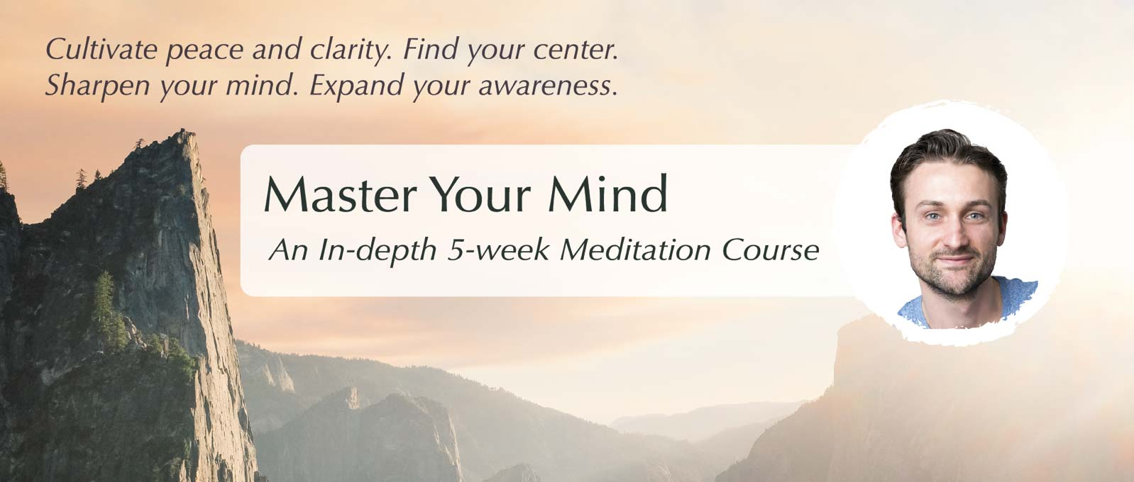 Learn how to meditate with the 5-week comprehensive meditation course for beginners Master Your Mind. #meditationforbeginners #masteryourmind #meditation #affiliatelink