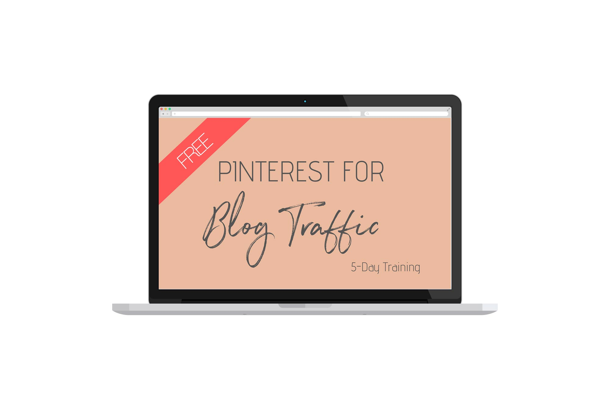 Learn in the FREE 5-Day training how to grow your blog traffic with Pinterst via lillaliptak.com #bloggingforbeginners #blogtraffictips #blogtraffic #blogtrafficpinterest #blogtips