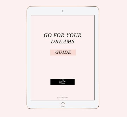 GO FOR YOUR DREAMS GUIDE BANNER